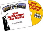 2007 Sacramento Jazz Jubilee CD cover
