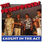 Album front cover: The Boondockers - Caught in the Act